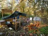 Wie woont er verscholen in de bosjes in Enschede? 'Ik ben eigenlijk timmerman'