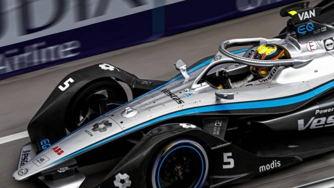 Stoffel Vandoorne schuift zes plaatsen op en rijdt nog eens in de punten in ePrix van Londen
