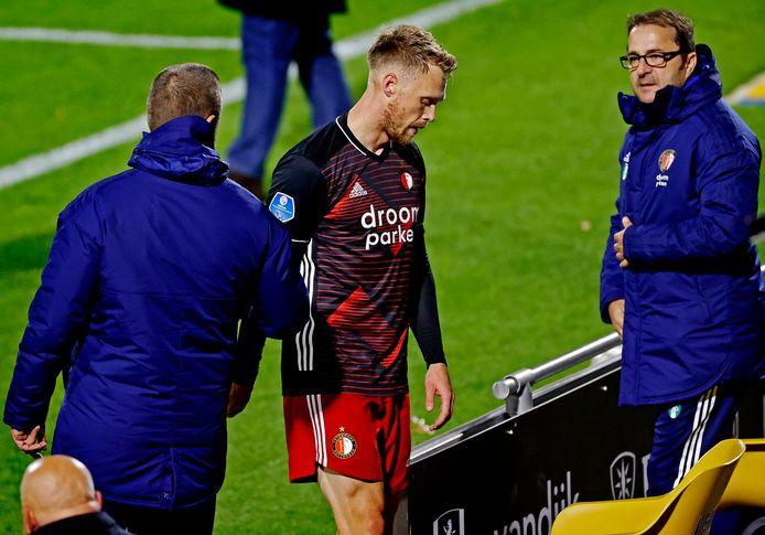 Nicolai Jørgensen scoorde nog wel, maar verdween vervolgens voor de zoveelste keer geblesseerd naar de kant.