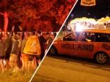 Massaal feest op Oranjerotonde in Apeldoorn