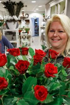 Bloemisten hebben het zwaar op Valentijnsdag