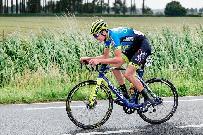Emiel Verstrynge begint vrijdag aan de Ronde van Aosta, door de pandemie een rittenkoers herleid tot drie dagen.