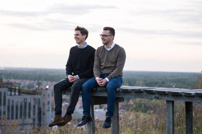 Thomas Celen en Wouter Schoofs, de oprichters van Zapfloor.