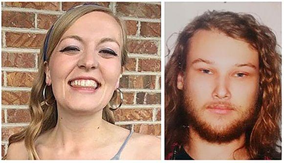 Chynna Deese, 24, uit Charlotte, North Carolina en haar Australische vriend Lucas Fowler (23).