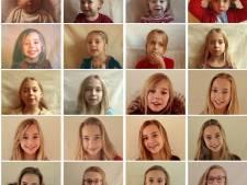 Zie de Utrechtse Lotte in enkele minuten opgroeien van baby tot 20-jarige vrouw