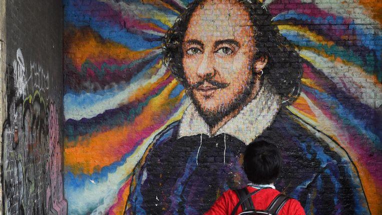 William Shakespeare overleed in 1616, maar is nog altijd relevant. Beeld anp