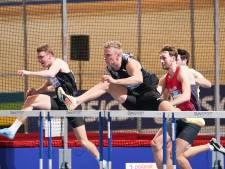 Sven Roosen blij verrast met 'toevallige' derde plaats op 60 meter horden