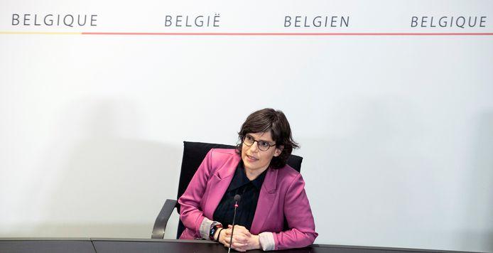 Tinne Van der Straeten, ministre de l'Énergie (Groen).