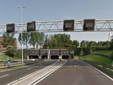 Drechttunnel richting Rotterdam weer open na ongevallen