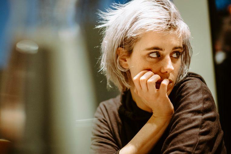 Sylvie Kreusch. Beeld Illias Teirlinck