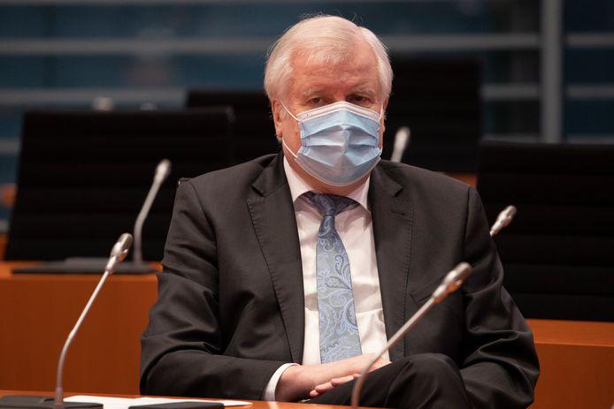 Duits minister van Binnenlandse Zaken Horst Seehofer