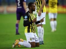 Met goal bij Vitesse valt last van schouders spits Loïs Openda:  'Wij willen een Europees ticket binnenhalen'