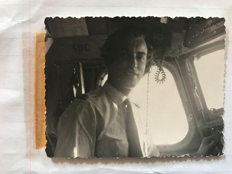 'Captain Jan' , een foto uit het dagboek van zijn moeder Beeld RV