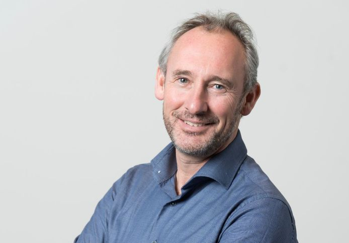 Hoofdredacteur Lucas van Houtert