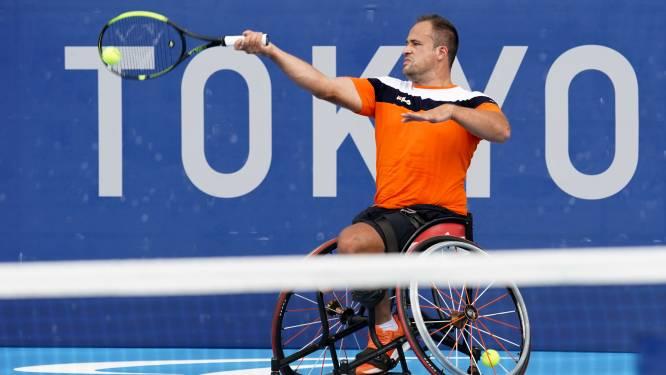 Hardenberger Tom Egberink verrast met behalen paralympische finale rolstoeltennis