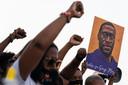 In heel de VS kwamen mensen op straat om Floyd te herdenken en hun steun uit te spreken voor het vonnis.