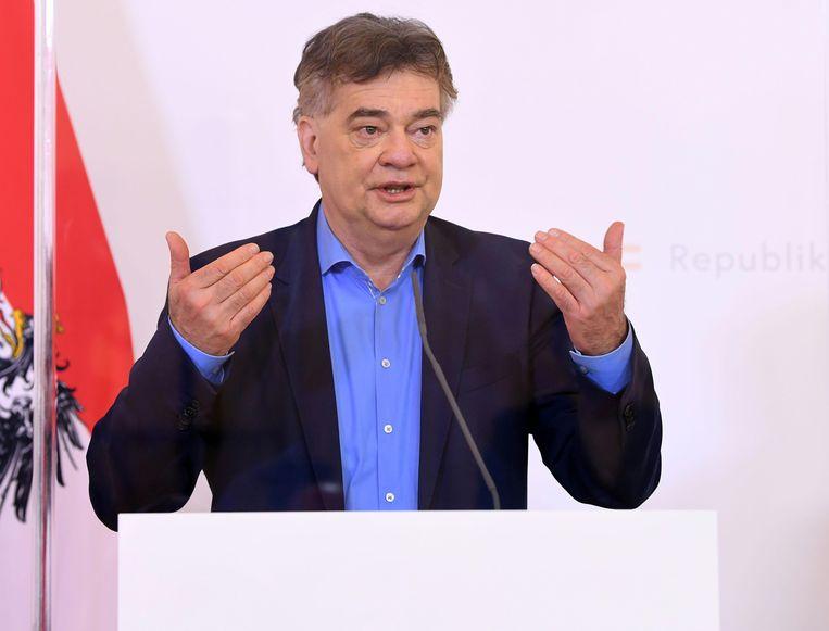 Cultuurminister Werner Kogler. Beeld AFP