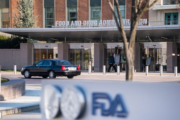 Hoofdkwartier van de Food and Drug Administration (FDA) in Silver Spring, Maryland.