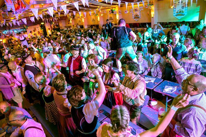 Een vorige editie van het Oktoberfest van Valkenswaard.