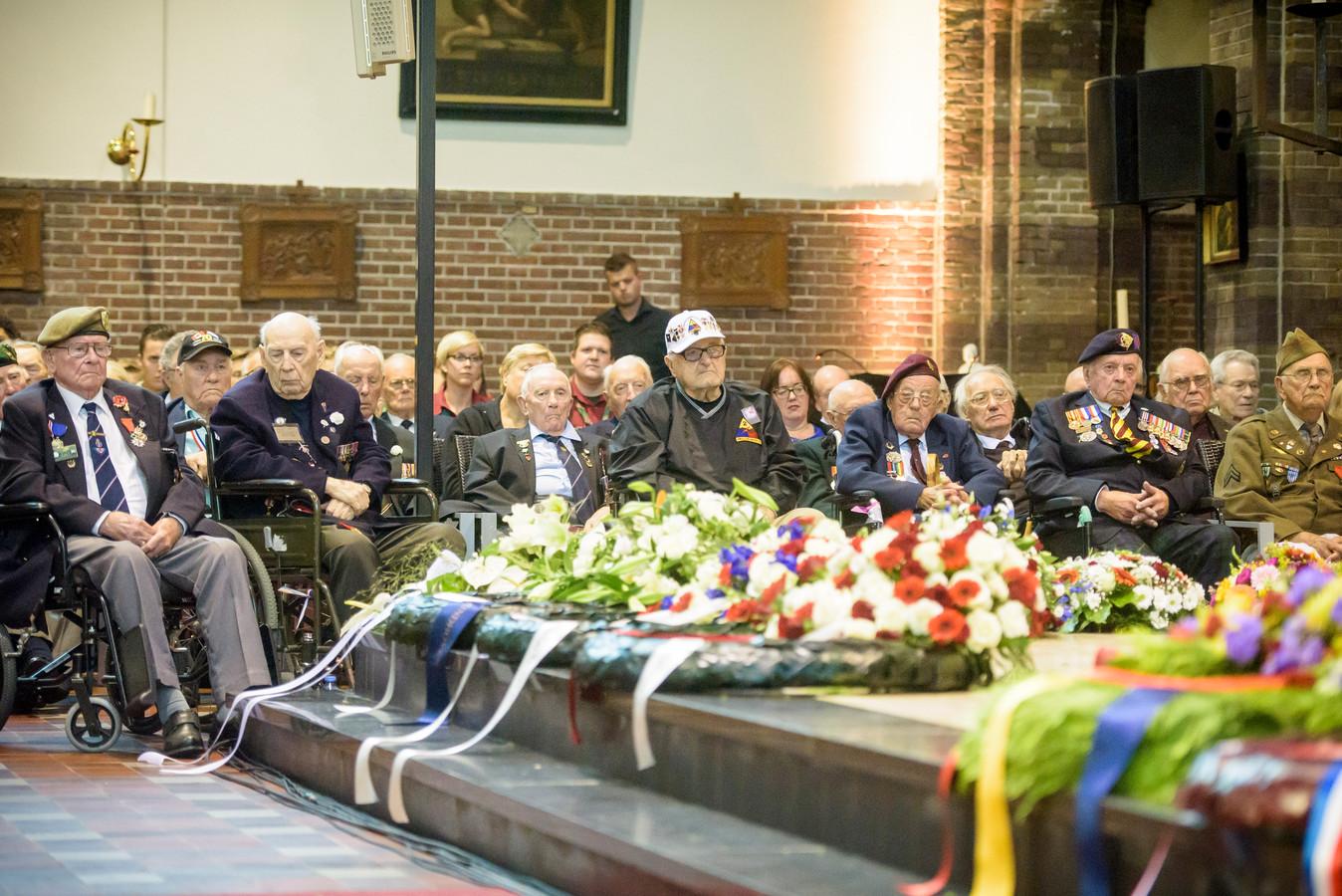 De herdenking van de Brabantse gesneuvelden in 2017.