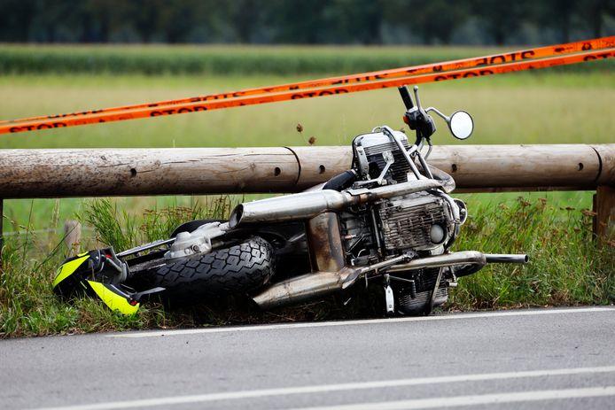 Vorig jaar verongelukte een motorrijder uit Gennep op de N272 bij Oploo.
