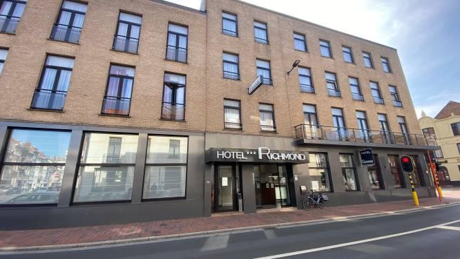 En fuite, un suspect du meurtre homophobe de David Polfliet a été interpellé dans cet hôtel de Blankenberge