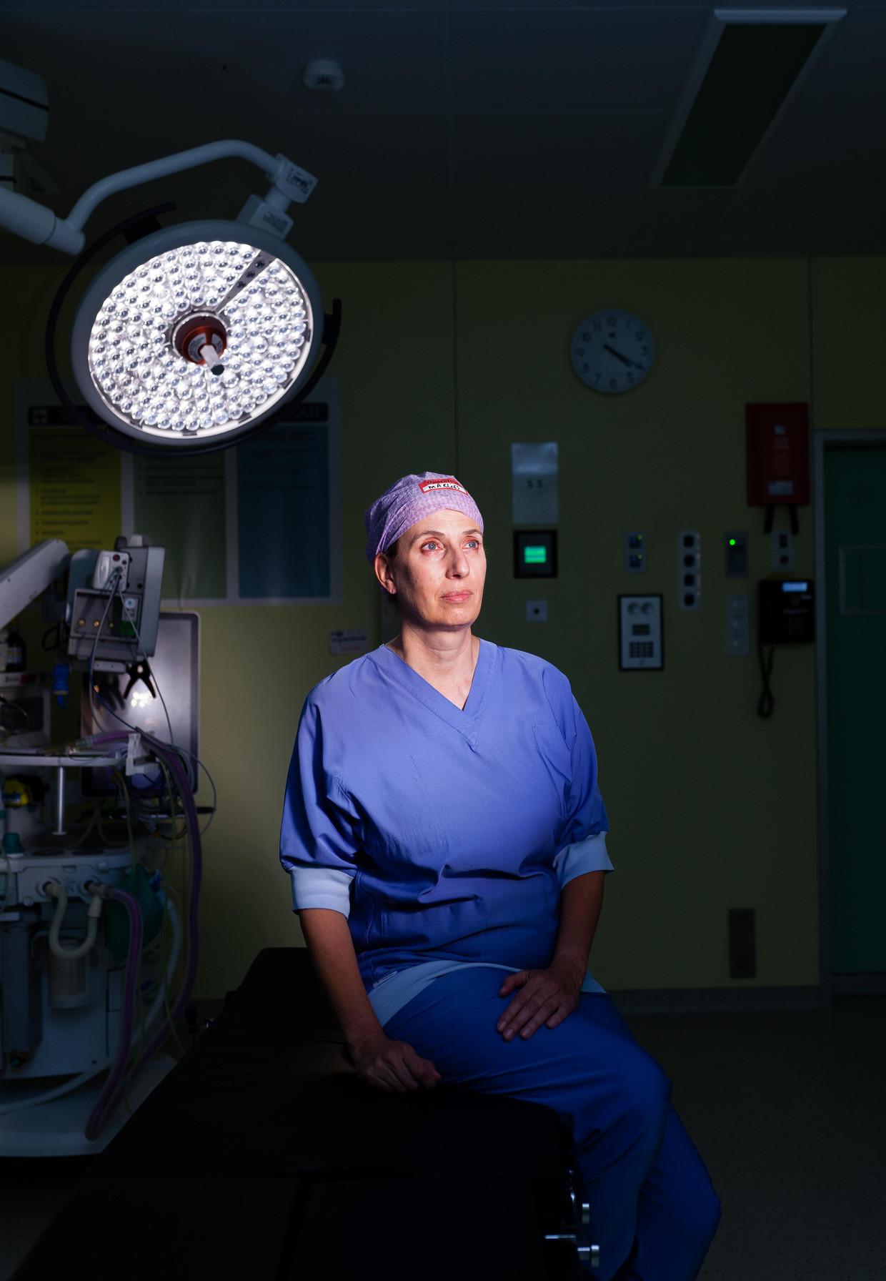 Chirurg Marlies Schijven Beeld Nina Schollaardt