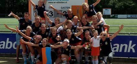 Kaatsheuvelse hockeyvrouwen van DES kampioen in tweede klasse