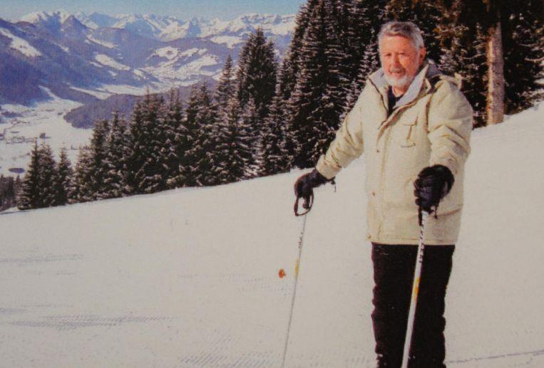 Vital op de latten, tijdens een van zijn ontelbare sneeuwklassen met de Damiaanschool in zijn geliefde Hopfgarten.
