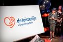 Prinses Beatrix onthulde in 2018 de nieuwe naam: De Luisterlijn, voorheen bekend als Sensoor.