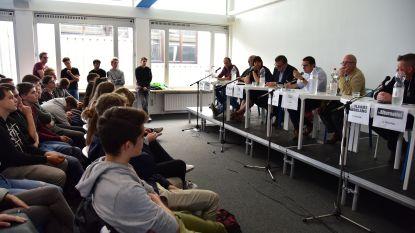Lijsttrekkers debatteren over toekomst stad