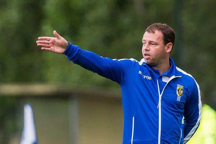 Nicky Hofs, de assistent-trainer bij Vitesse
