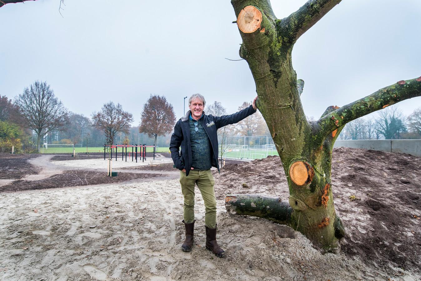 Sas Haan ontwerper is de ontwerper van ontmoetingspark De Koppel in Diepenheim