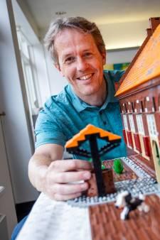 Lego-kunstenaar Erik heeft een nieuw Bennekoms pareltje: 'Zo ben ik de coronatijd goed doorgekomen'