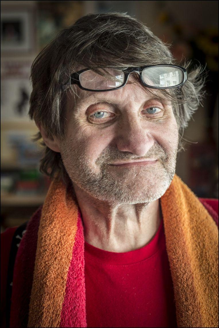 Regisseur Robbe De Hert kiest voor Rood!, een linkse partij in Antwerpen. Beeld UNKNOWN