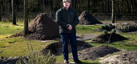 Begraafplaats Nuenen druk met islamitische uitvaarten