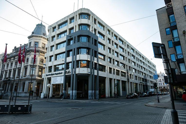 De Karel de Grote Hogeschool in Antwerpen. Beeld Klaas De Scheirder