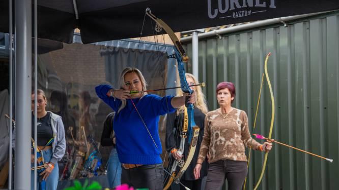 Twintig sportieve vrouwen uit Heikant spannen de boog
