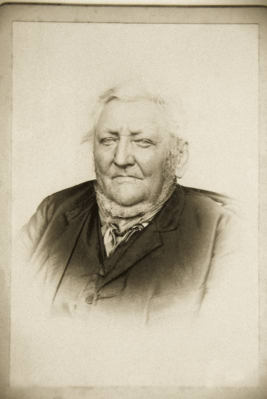 Burgemeester G.J. Horsting in 1893.