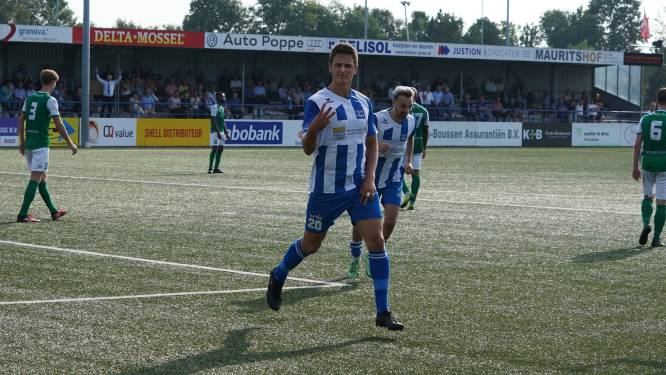 Hoek viert feest na reddingen 'Barthez' en goals Schalkwijk