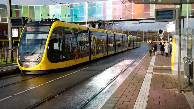 Uithoflijn in Utrecht rijdt niet door kapotte bovenleiding