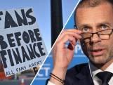 UEFA-baas Ceferin over Super League: 'Dit is verraad'