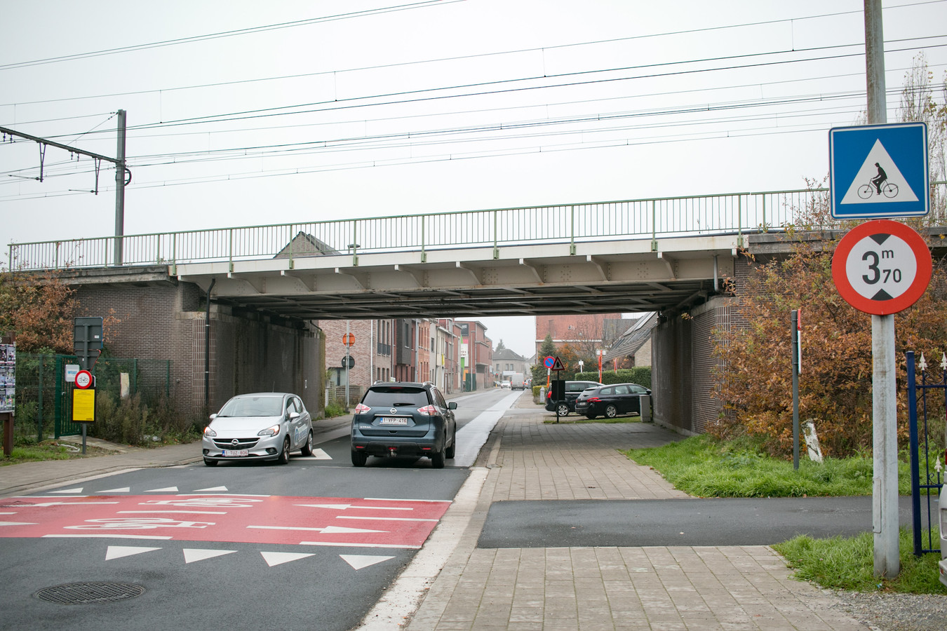 Een knip voor het verkeer in de Nieuwe Molenstraat: dat is het ingrijpende gevolg van de aanleg van de fietsbrug over Vijfstraten.