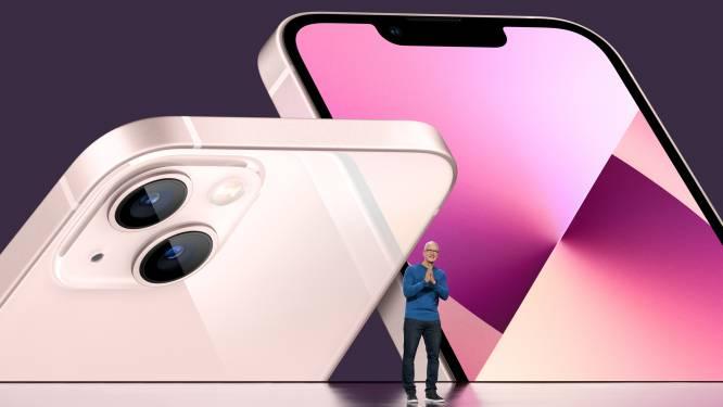 Apple dévoile l'iPhone 13, dont un à 1839 euros