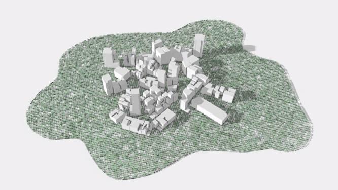 Saudische prins wil metropool van de toekomst bouwen in woestijn, zonder straten of wagens en helemaal gerund door robots