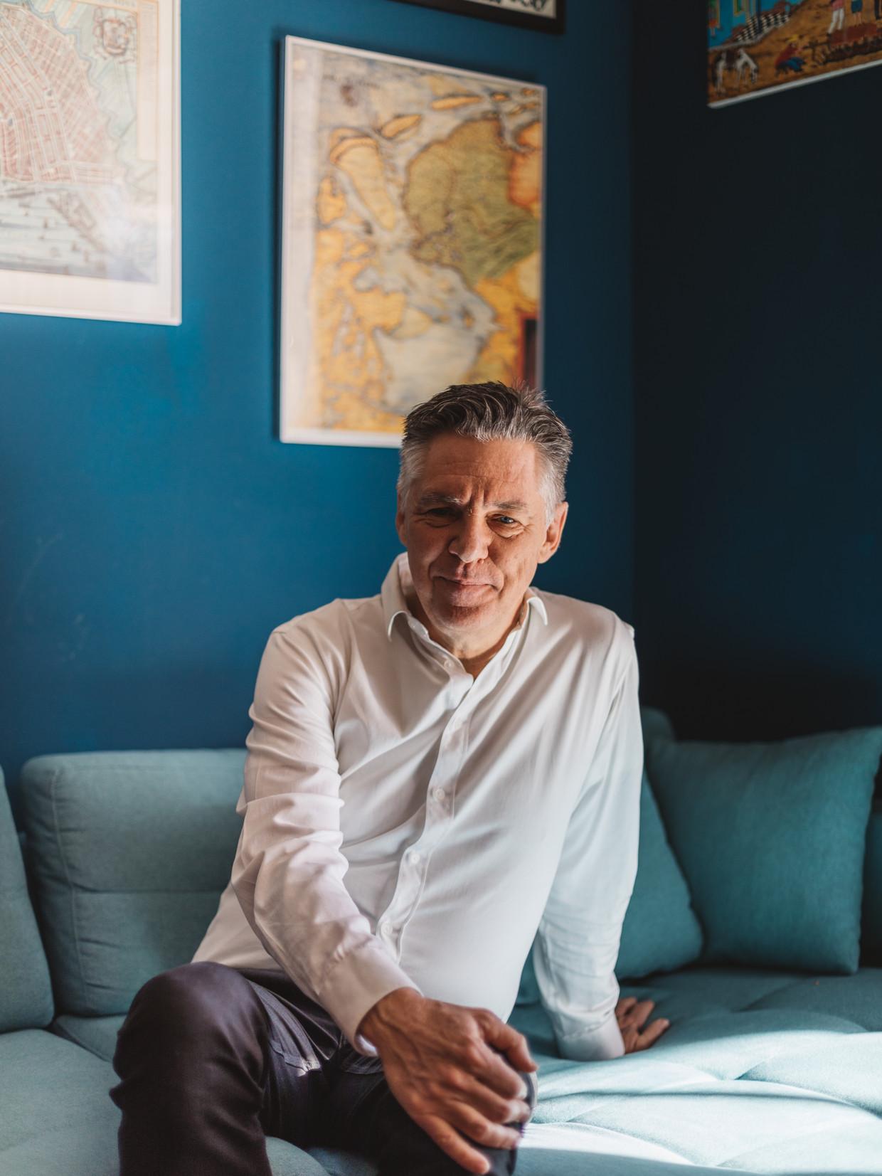 De Nederlander Ruud Koopmans: 'In België vindt meer dan de helft van de moslims het fundamentalisme oké.' Beeld JULIA NIMKE