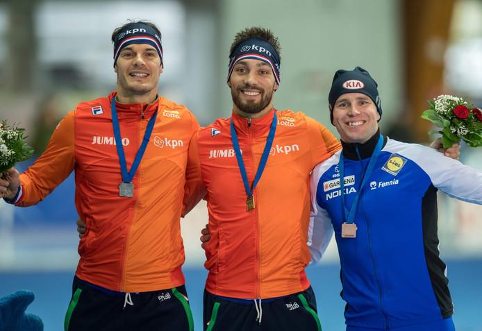 Hein Otterspeer, Kjeld Nuis en Mika Poutala.