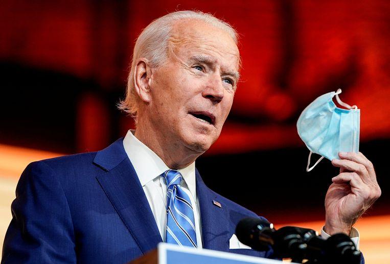 Aankomend president Joe Biden. Beeld REUTERS