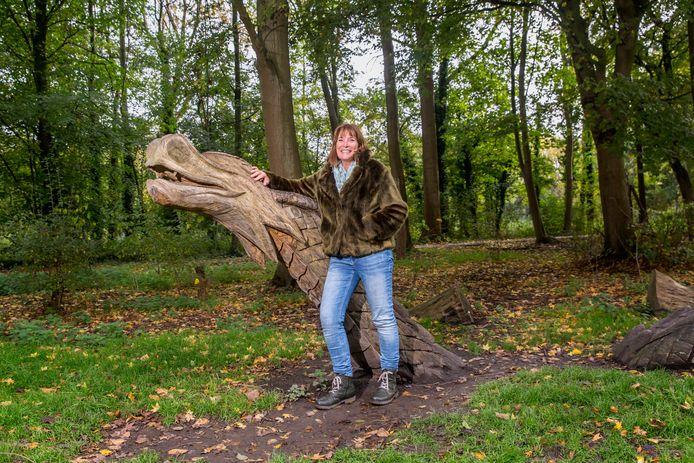 Yolande Kleiss, voorzitter stichting Vrienden van het Beatrixpark