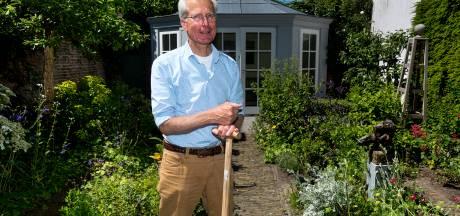 Hoe 'tuinman' Michiel krakersbolwerk omtoverde tot paradijs: 'Je ziet planten groeien onder je handen'